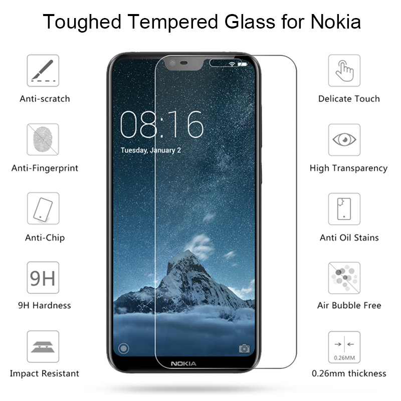 Free shipping New tempered film screen protector glass For Nokia 3 explosion-proof protective film screen protector