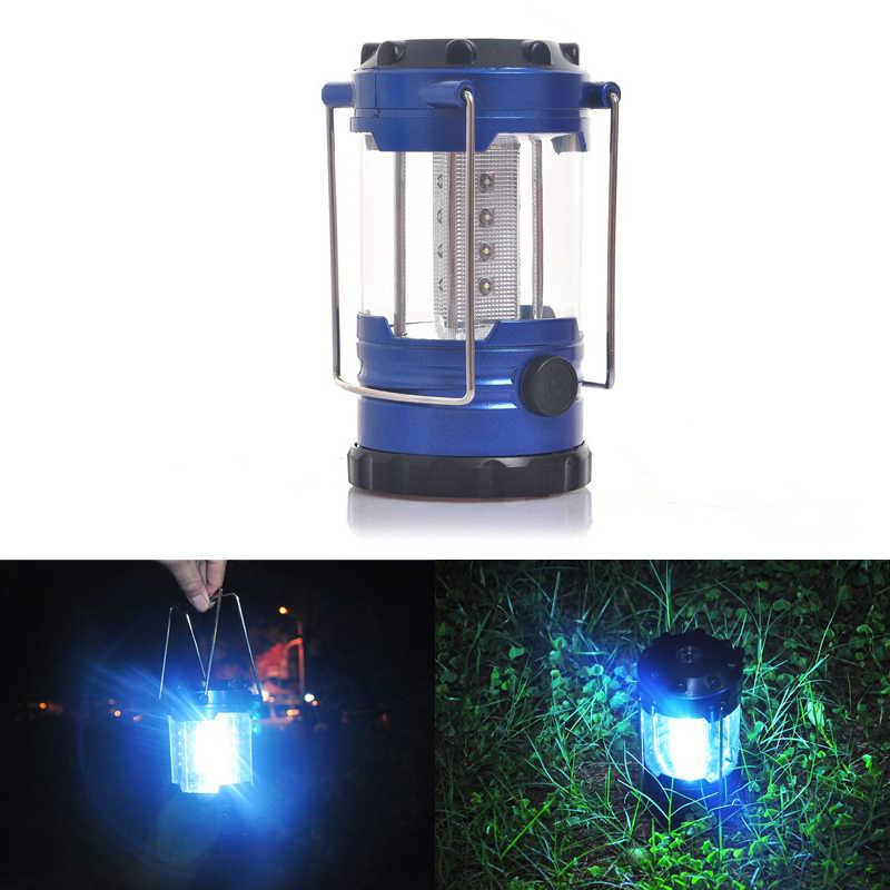 Handheld Lamp Tent Light Camping Lamp Solar LED Folding Waterproof Outdoor