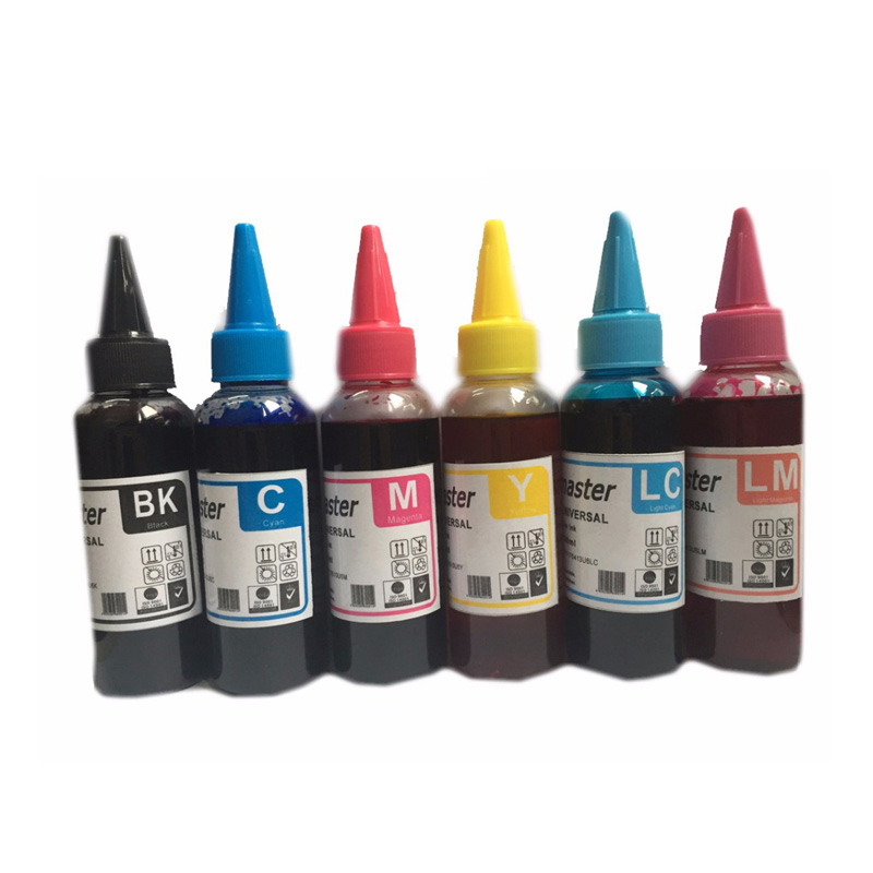 600ML T0821 T0821N Dye <font><b>Ink</b></font> Refill Kits For <font><b>Epson</b></font> <font><b>R270</b></font> R390 TX650 T50 T59 RX590 TX700W TX800W T50 TX720 TX700 TX800 RX610 Printer image