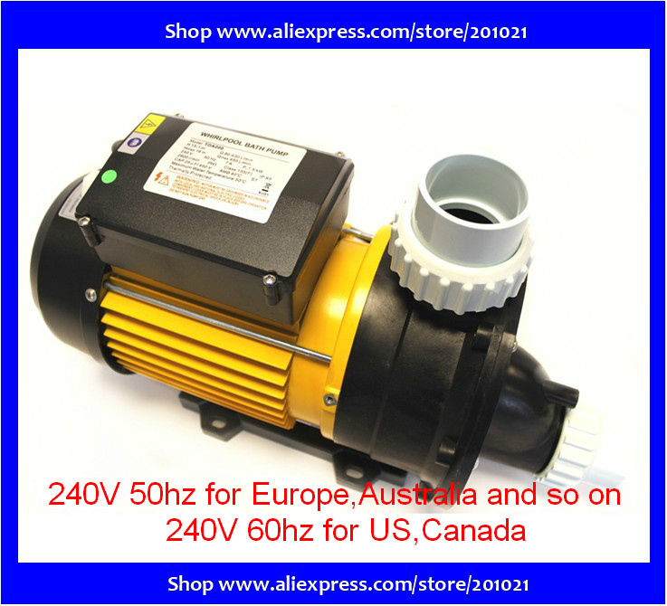 TDA200 Pump 1 speed Chinese Hot Tub parts Spa Tubs Whirlpool Bath LX Pumps TDA 200 2.0 hp 1.5kw, 240V, 7.0Amp whirlpool lx dh1 0 hot tub spa bath pump 1hp
