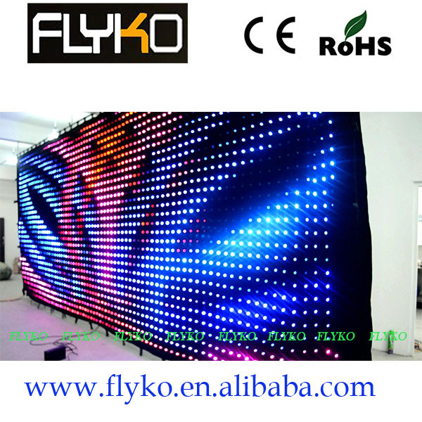 Pc Controller Led Soft Curtain Display Led Cortinas Led Video Curtain In Short Supply Lights & Lighting Free Shipping