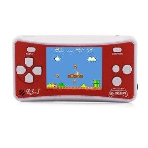 """Image 3 - 2.5 """"8 Bit Di Động Video Chơi Game Cầm Tay Cho Trẻ Em Retro 162 Trò Chơi Cổ Điển Người Chơi Những Năm 80 Arcade video Game"""