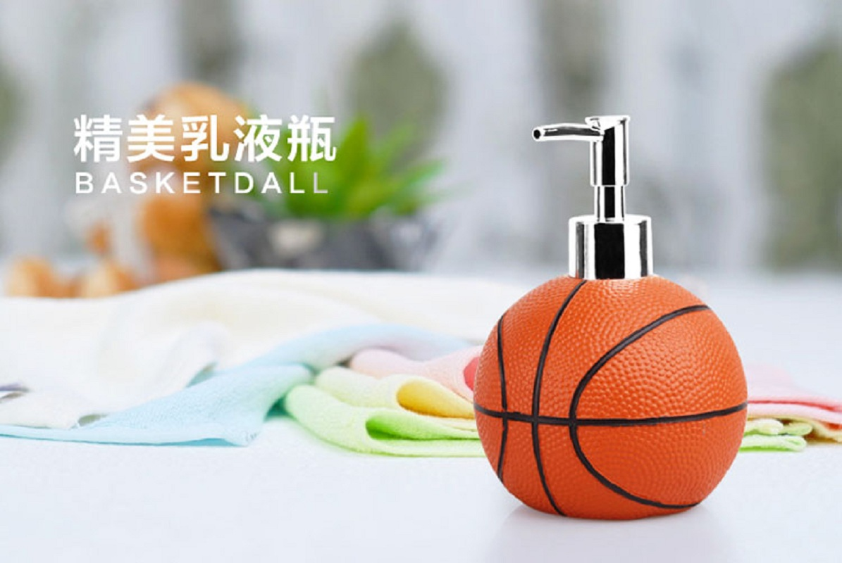 Merveilleux Cute Basketball Resin Bathroom Accessories 5 Pieces Conjunto Para Banheiro  Wedding Gift Bathroom Set Resin Bathroom Accessories In Bathroom Accessories  Sets ...