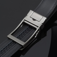 New Men's Luxury Automatic Buckle Leather Belt