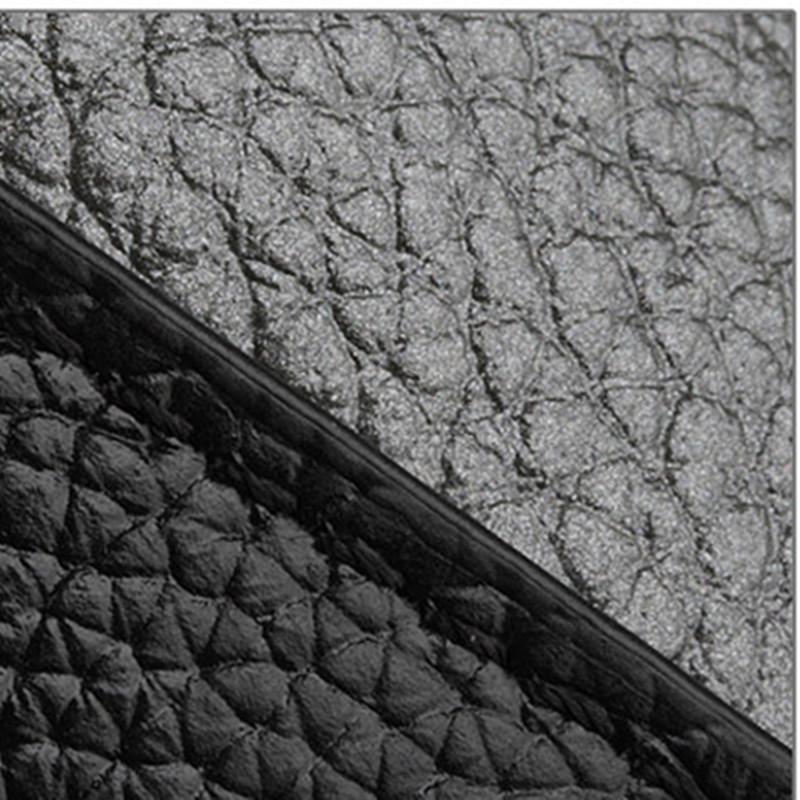 Contraste de color de moda 100% cuero granulado genuino Bolso de - Bolsos - foto 6