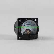 1pc VU Voltage SO45 Panel Meter Gauge Black for 300B 2A3 845 50 Tube Amplifier promotions noble voice of t series markii tube 2a3 tii classic version single price