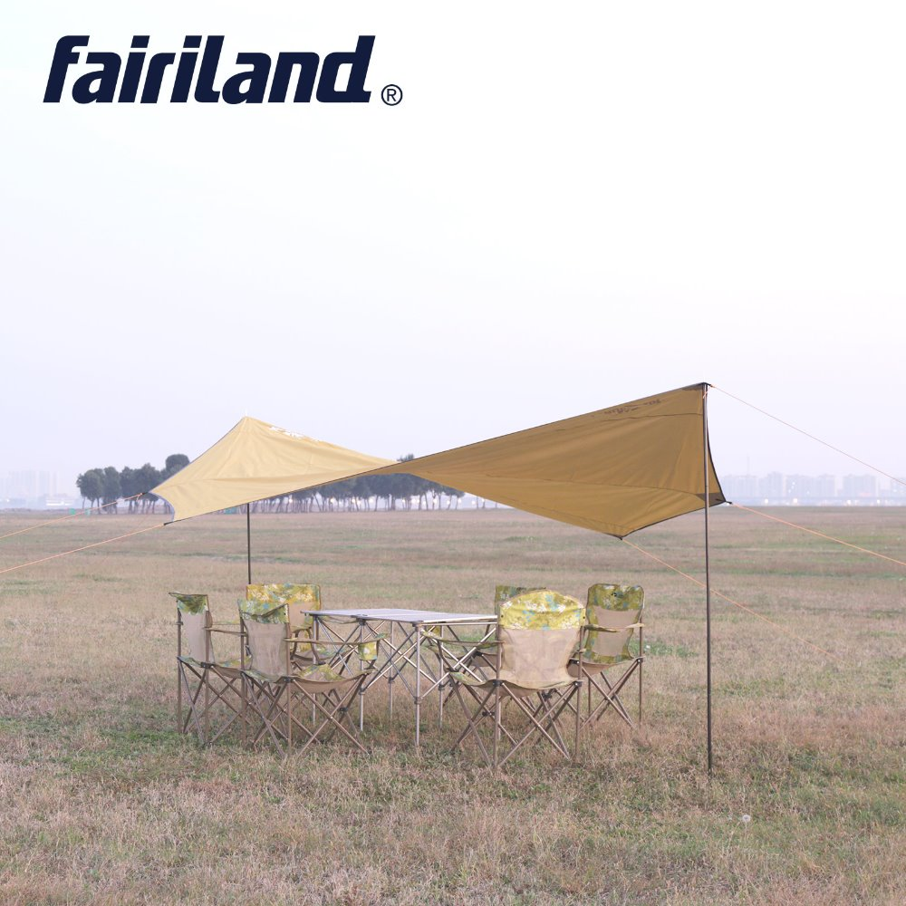 US $36.33 30% OFF|Wasserdicht Hängematte Regen Fliegen Zelt Tarp sonnensegel Camping Shelter Sonnenschirm Strand Picknick Matte für Wandern Camping in