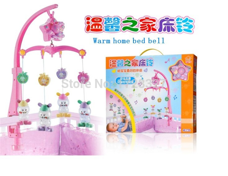 Envío gratis juguetes para bebés para 0-12 meses mano cama cuna Musical colgando