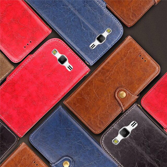 Biencaso Dầu Cổ Điển-pull Leather Wallet Phone Case Cho Samsung Galaxy S3 SIII I9300 Neo Duos Túi Xách Retro Đứng Khe Cắm Thẻ B66