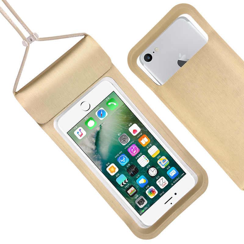 Housse de téléphone étanche universelle pour Cubot J5 Max 2 Quest Lite R15 X19 A5 J3 Pro King Kong 3 Nova P20 sac de poche d'alimentation étui de bain