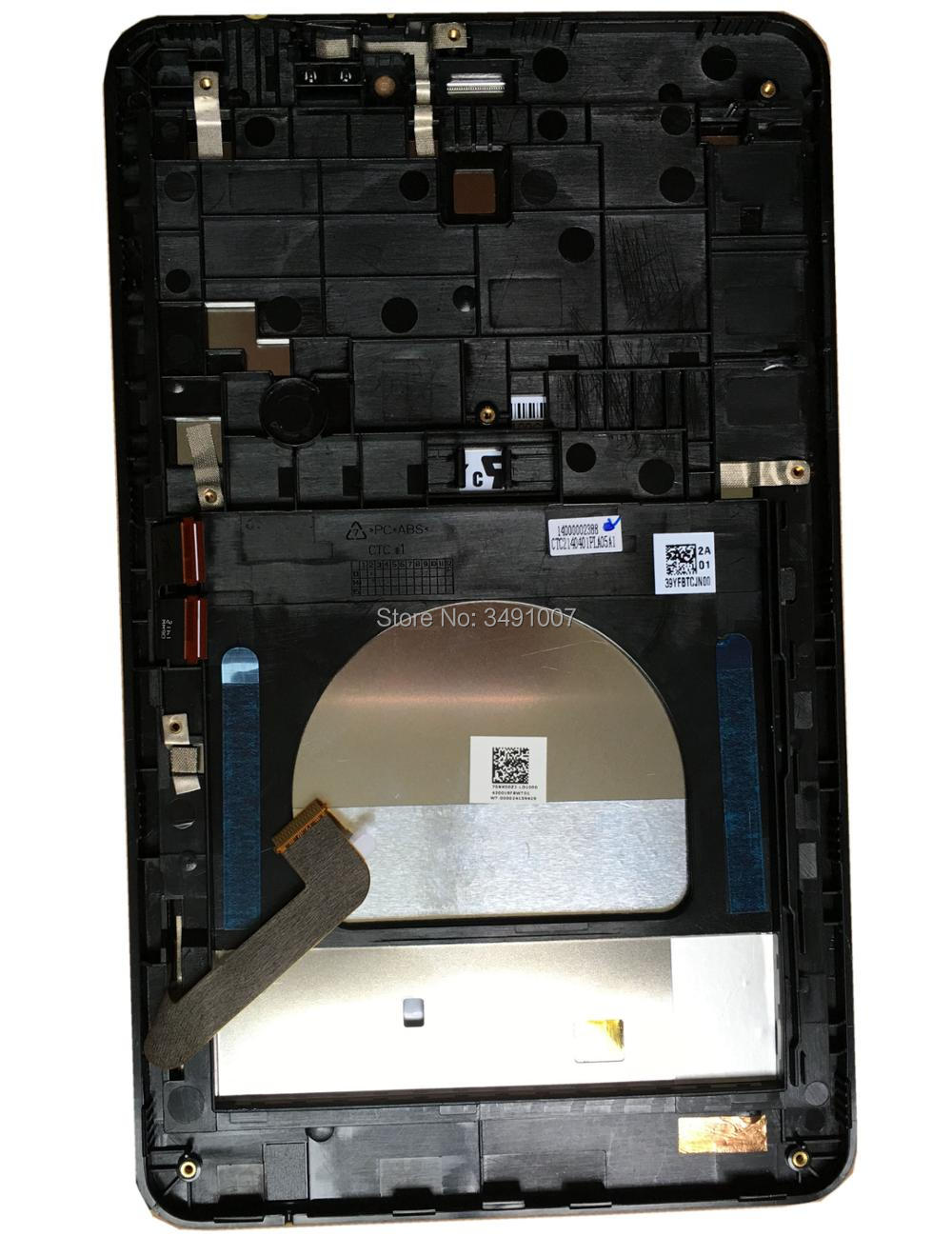 5472L FPC-1 Rev:2 LCD LED Screen Touch Screen Digitizer Assembly with Frame for ASUS ME175CG K00Z b080uan01 4 lcd led touch screen digitizer glass assembly frame for dell venue 8 3840 tablet 5613w fpc 1