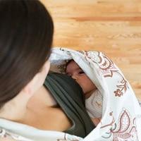 Cotton Breast Feeding Nursing Covers Baby Infant Breathable Nursing Apron Cotton Muslin Nursing Cloth Nursing Cape Feeding Cover