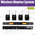 SR 2100 IEM SR2100 In Ear Monitor System 2 Channel 4 Bodypack Monitoring with in earphone wireless wireless stage monitor system