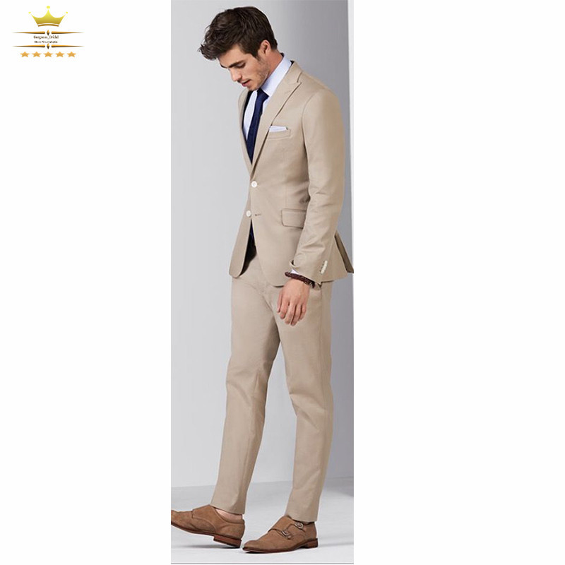 Grooms Mens Tuxedos Custom Made Wedding Suits With Pants