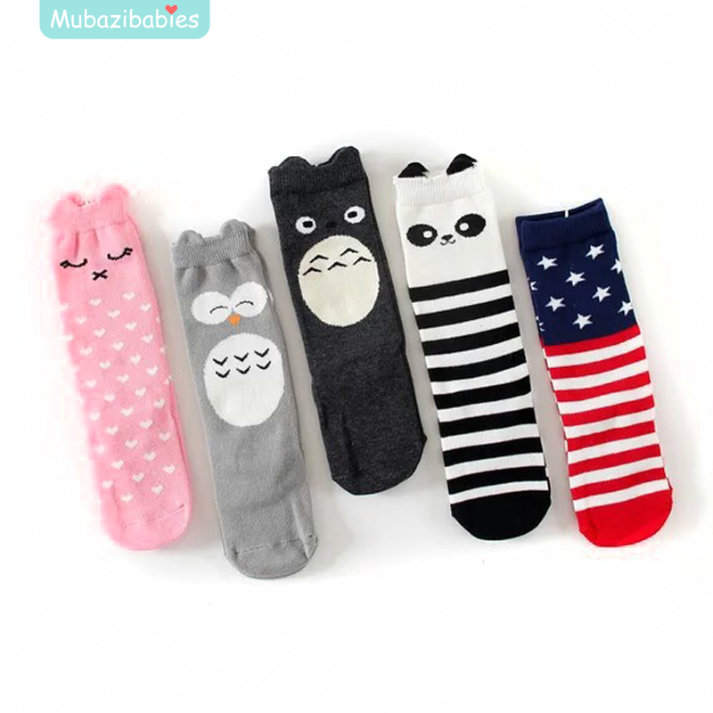 Toddler Knee High Socks For Kids Baby Boys Girls Anti Slip
