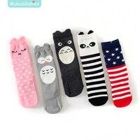 Toddler Knee High Socks For Kids Baby Boys Girls Anti Slip Kids Long Sock With Rubber