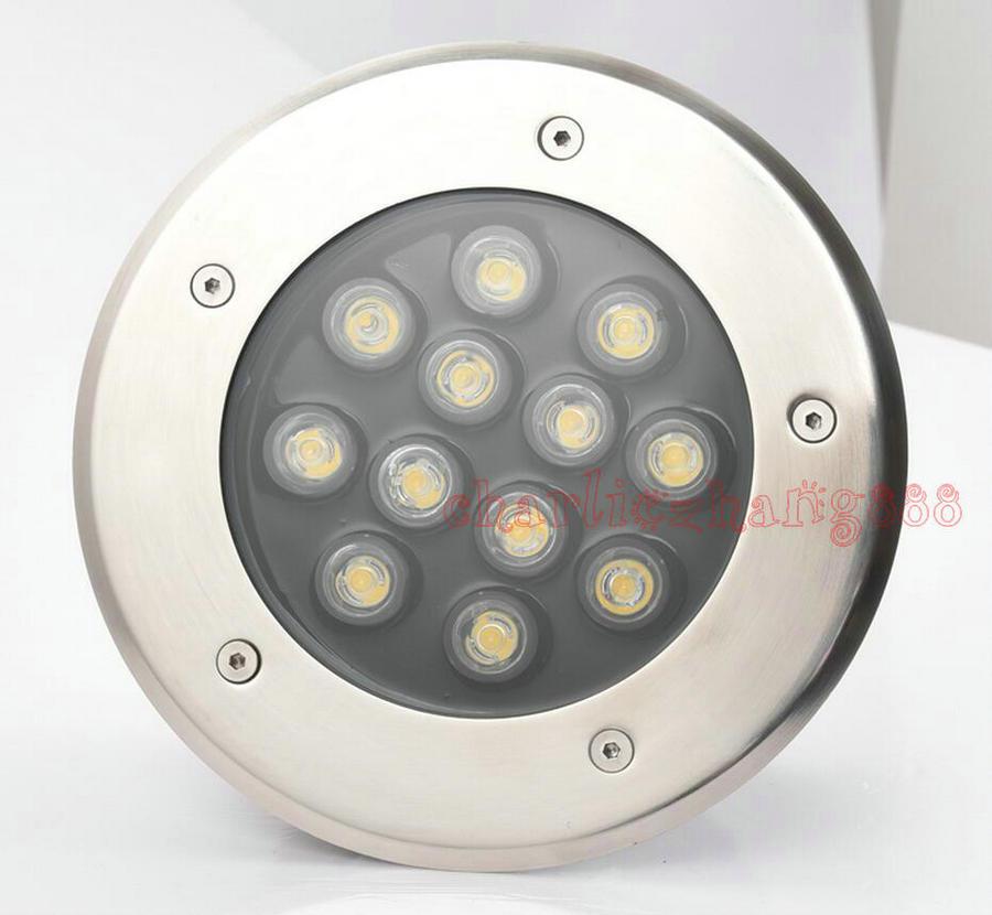 7w Led Underground Light 7*1w Buried Outdoor Lamp Ground Floor Recessed Lamp Foot Stair Corner Lamp Ac85v-265v Led Lamps Led Underground Lamps