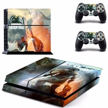 New The Elder Scrolls V : Skyrim Decal PS4 Skin Sticker For Sony Playstation 4 PS4 Console +2Pcs Controller