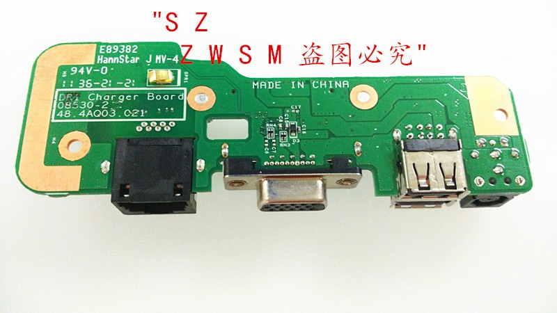 все цены на  Genuine New Free Shipping DC Power Jack USB Port Charger Board For DELL Inspiron 1545 1546 USB BOARD  онлайн