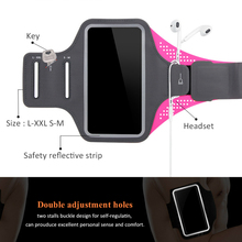 Waterproof Sports Armband Phone Case For iPhone 6 7 8 X XR For Samsung For Huawei Universal Sport Phone Case Arm Band Running