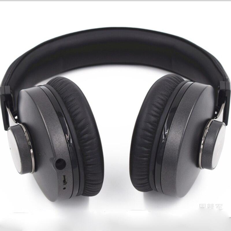 Bluetooth CSR4.2 головка twist 50 мм высокоточные CD стерео наушники с микрофоном для телефона - 4