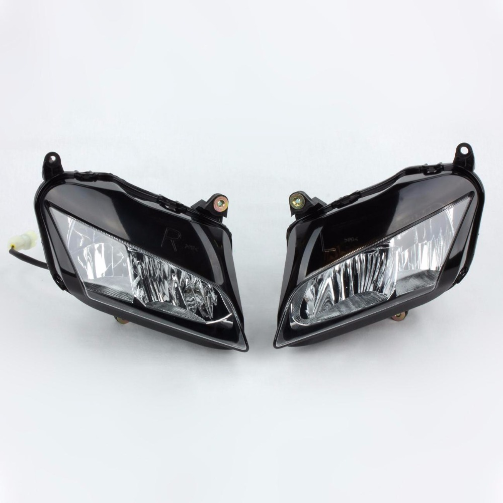 Motorcycle Front Headlight Motto Head Lamp Lights For Honda CBR600RR CBR 600 RR 600RR 2007 2008 2009 2010 2011 07 08 09 10 11 F5 motorcycle rear seat cover tail section fairing cowl for 2007 2012 honda cbr600rr 2008 2009 2010 2011 cbr 600rr 600 rr 07 08 09