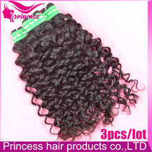 spiral curl,7a virgin hair italy curl, high quality, 3pcs/lot,peruvian human hair weave ,1b,can be dyed