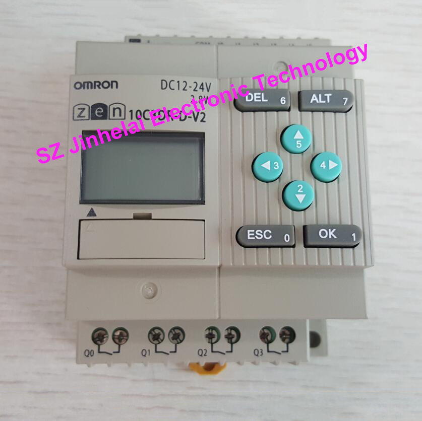ONE NEW OMRON Programmable relay ZEN-8E1DR DC12-24V