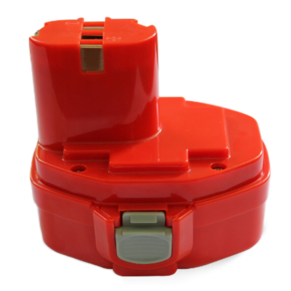 Top Deals 2.0AH <font><b>14.4V</b></font> Battery for Makita 1420 1422 194172-2 PA14 Cordless Drill Red image