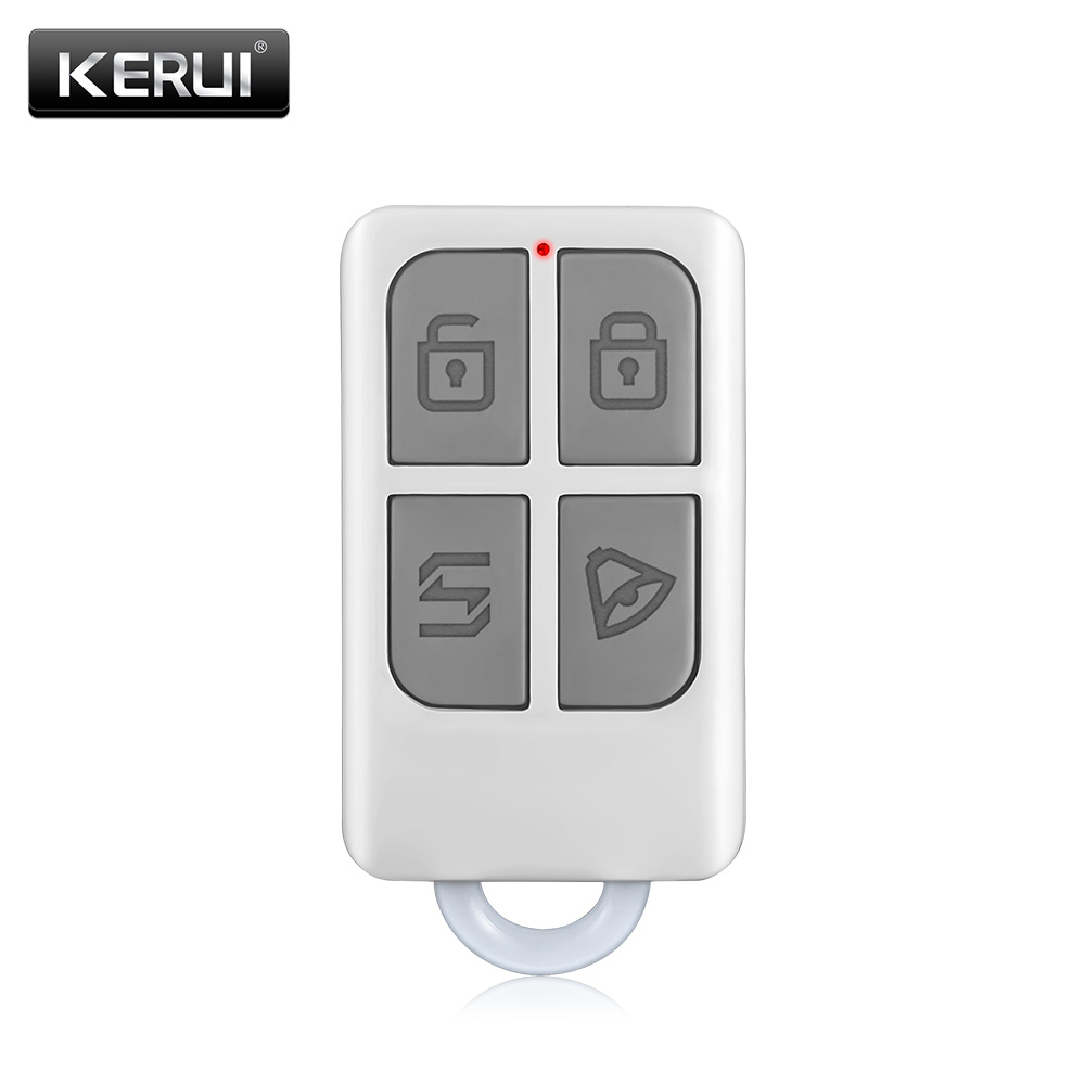 Wireless High-Performance Portable Remote Control 4 Buttons For KERUI GSM PSTN Home Alarm System комплект в кроватку луняшки мой зоопарк 3 пр зеленый