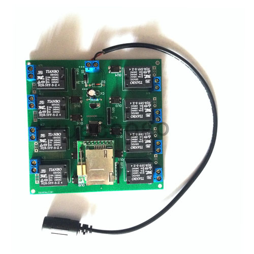 8 way message relay module serial port control switch short message timing control relay 12 way switch quantity 10 way relay output serial port io board io port digital module switch module