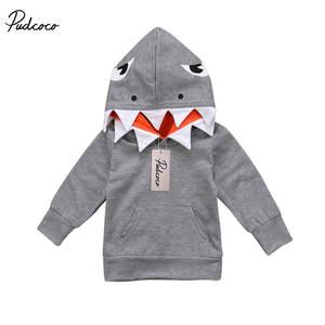 2f0bca55c092 Emmababy Baby Sweatshirt Toddler Kids Boys Hooded Hoodie