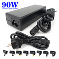 Third Generation Smart 90w Universal notebook Charger Laptop Adapter with 100-240V AC Cable and Connector for HP ASUS
