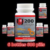 6 Bottle 600pcs Tongkat Ali 200 1 Extract Eurycoma Longifiolia Enhance Man S Stamina Free Shipping