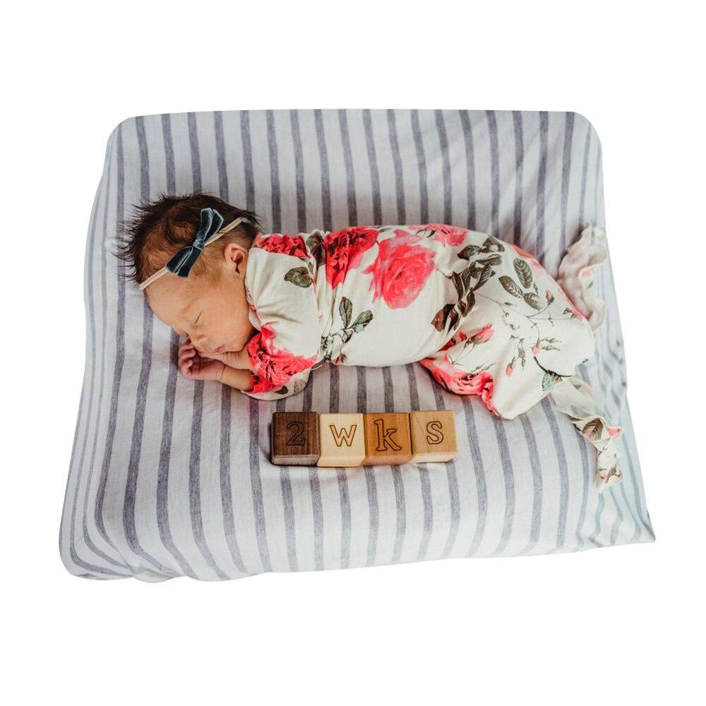 2017 Newborn Lovely Infant Long Sleeve Floral Print White Swaddling Winter Baby Sleeping Bag Newborn Stroller Swaddle Sack Baby