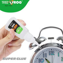 Tree Frog 30g high quality 401 Strong contact glue Liquid Super Glue Rubber shoes plastic metal wood PU Contact Adhesive 9ml super e6000 liquid glue touch screen cyanoacrylate e 6000 stationery store bts rubber metal leather wood adhesive