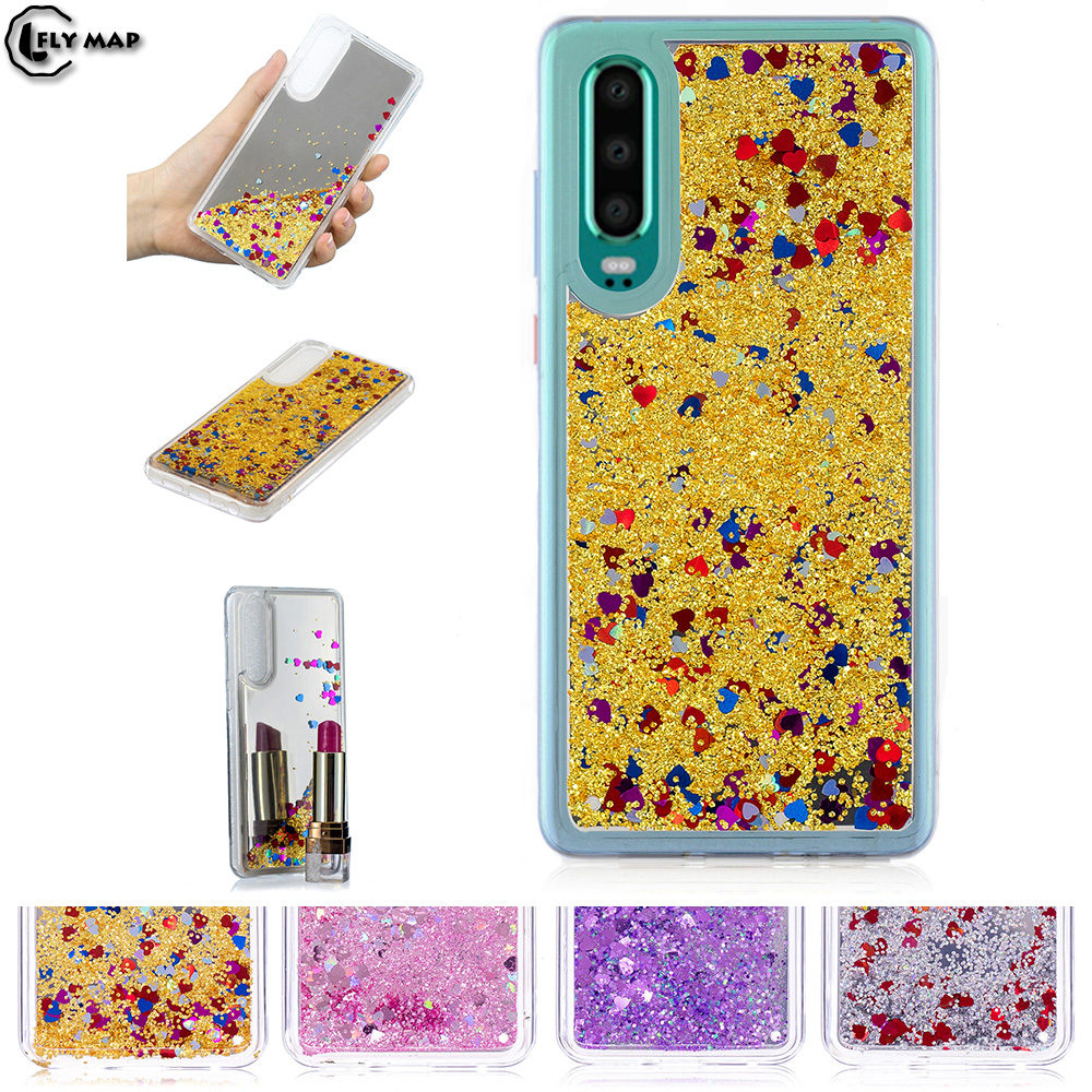 Mirror Flash Star Case For Huawei P30 Standard / Premium Liquid Quicksand Phone Cover Coque ELE-L09 ELE-L29 ELE L09 L29 P 30