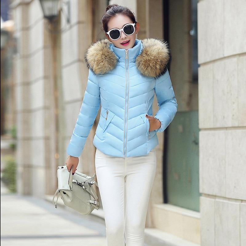 ФОТО More colors short Winter jacket women,warm thick parka,fashion faux fur coat collar hooded coat women winter parkas TT1526