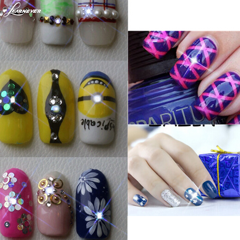 New Arrive NFC LED Lighting Nail Sticker,Chip Automatic Flash Fixed ...