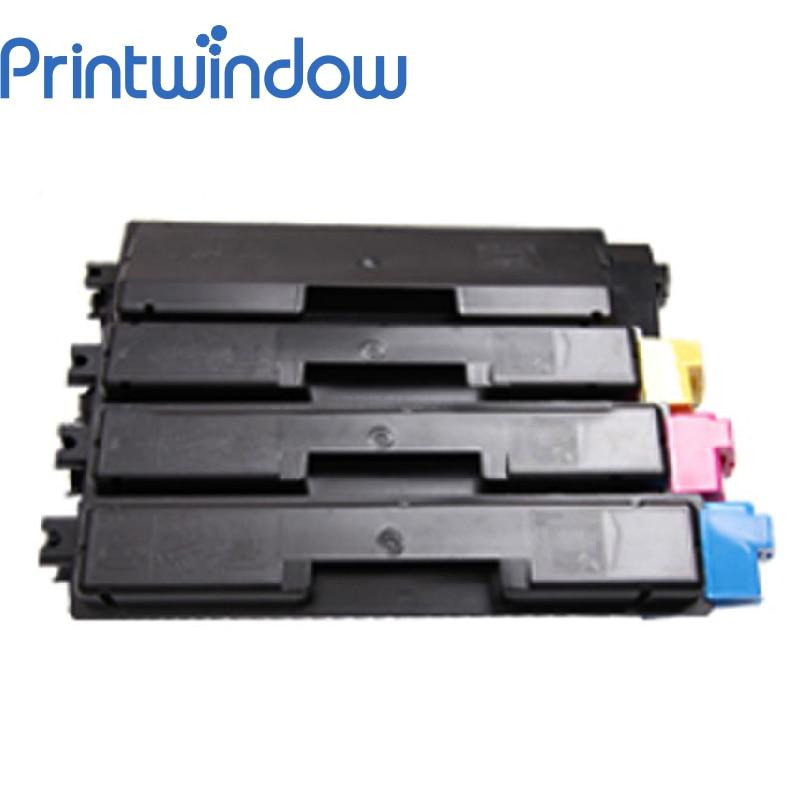 Printwindow Compatible Toner Cartridge for Kyocera Taskalfa 265ci/266ci 4X/Set printwindow compatible toner cartridge for toshiba fc25 2040c 2540 3040 4540 4x set