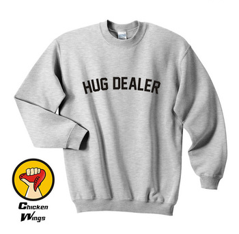 Hug Dealer shirt, Tumblr Shirt Hug Dealer Funny Cute Shirt Top Crewneck Sweatshirt Unisex More Colors XS - 2XL new unisex vegetarian vegan powered by plants tumblr hipster joke swag crewneck sweatshirt unisex more colors xs 2xl a958