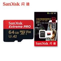 Sandisk Micro SD Card 32GB 64GB 128GB 256G 400G 100MB/S Memory Card Class10 U3 4K Microsd SDHC Flash TF Card for Phone Computer