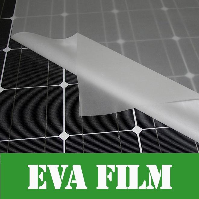 5m x Width 680mm thick 0.4mm EVA FILM for Solar Cell Encapsulation DIY Solar Lamination цена