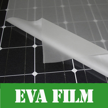 5m x Width 680mm thick 0.4mm EVA FILM for Solar Cell Encapsulation DIY Solar Lamination