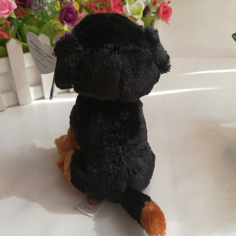 TY beanie babies Brutus P dog 15 cm Plush Toy Stuffed Animal Doll Soft Kids  Toy Christmas Gift Hot Sale the Rottweiler-in Stuffed   Plush Animals from  Toys ... 040e18c7afc1