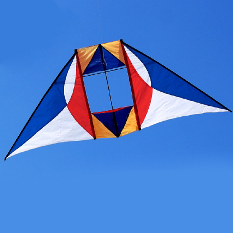 3D Kite Single Line Box Kite for Kids Adult Outdoor Toys Sport Beach Kite Flying Ripstop Nylon Fabric