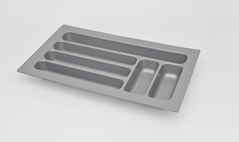 W280 230 D485 430 50mm ABS Plastic Cuttable cutlery tray insert Inserts utensil holder fitted kitchen