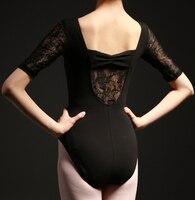 Butterfly back scenery short Sleeve Dancewear Ballet Leotard Lace adult girl ballet dance clothes ballet leotard suit