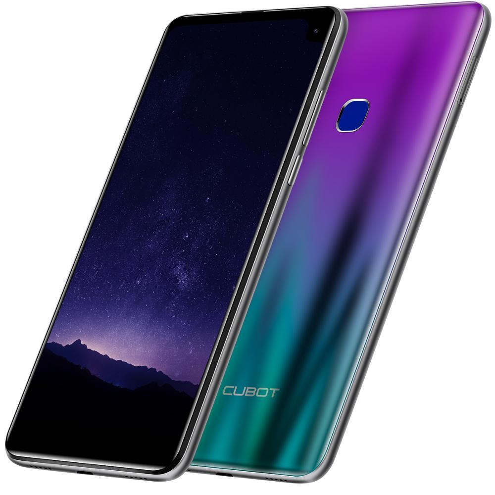 2019 Cubot Max 2 6.8 Waterdrop Android 9.0 19:9 MT6762 Octa Core Smartphone 5000 mAh 4 GB + 64 GB Achter Camera 6 P Lens 4G LTE Telefoon - 2