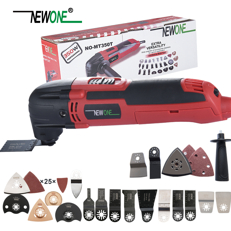 NEWONE Multi function Power Tool Electric Trimmer Renovator saw 300W cutter Oscillating Tool with handle multi purpose blades-in Electric Saws from Tools on